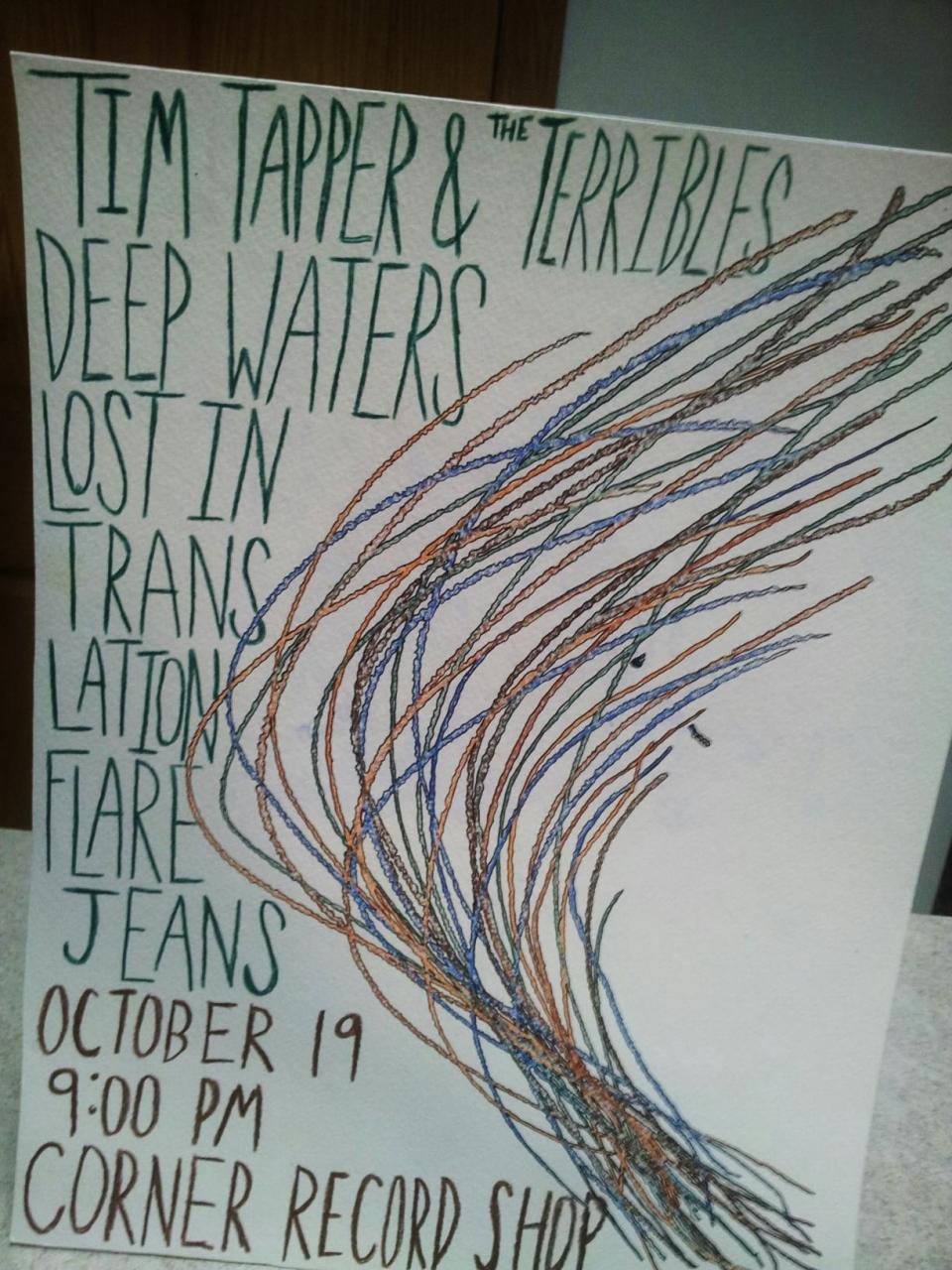 DEEP WATERS ACOUSTIC SET OCTOBER 19